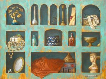 Заказ живописи для интерьера. Киев, Украина, Мастерская Круг
