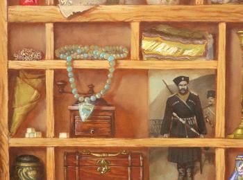 Натюрморт маслом, интерьерная живопись под заказ от мастреской Круг