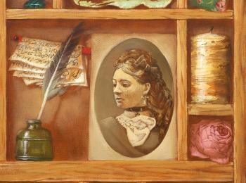 Натюрморт маслом, живопись под заказ от мастреской Круг