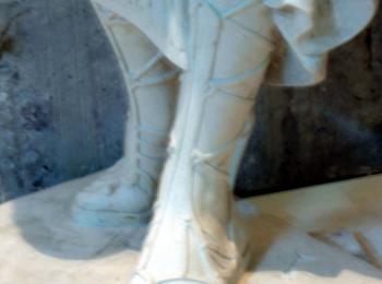 Скульптура греческой богини (фрагмент). Услуги скульптора в Киеве. Скульптура на заказ от мастерской Круг