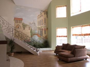 Роспись стен в частном доме в Киеве (стиль — Венеция)
