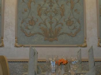 Роспись стены в ресторане «Раффинато, фрагмент