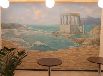 Роспись стен, творческая мастерская Круг