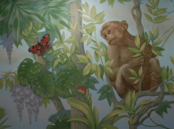 Роспись стен, Украина, творческая мастерская Круг
