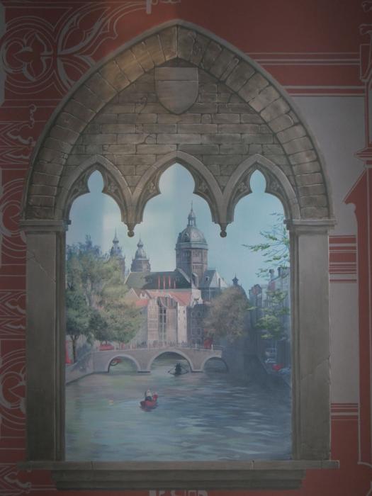 Художественная роспись стен и потолков в Киеве